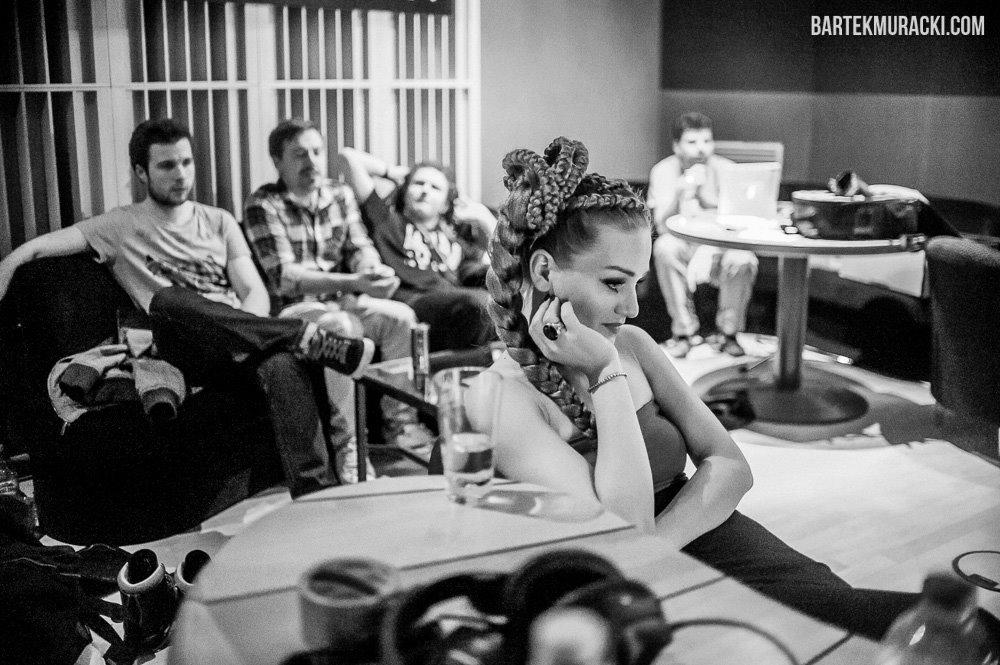 Backstage: Marika - Chilli ZET Live Sessions - Bartek